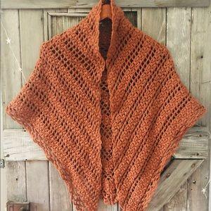 Accessories - Hand Knit Shawl